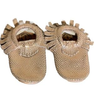 Freshly Picked Leather Moccasins - Baby Size 5